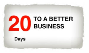 20 Days To A Better Business: Block out time
