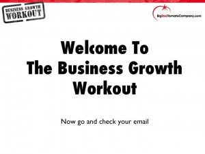 Business Growth Workout