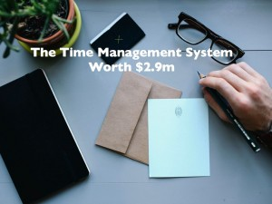 Time Management System Worth $2.9m