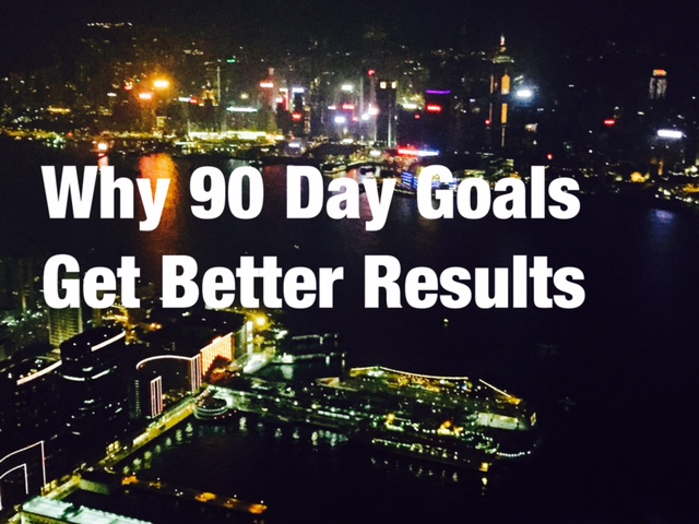 Why 90 Day Goals Get Better Results
