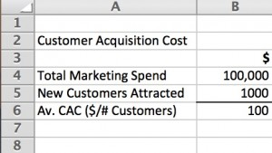 Calculating Customer Acquisition Costs